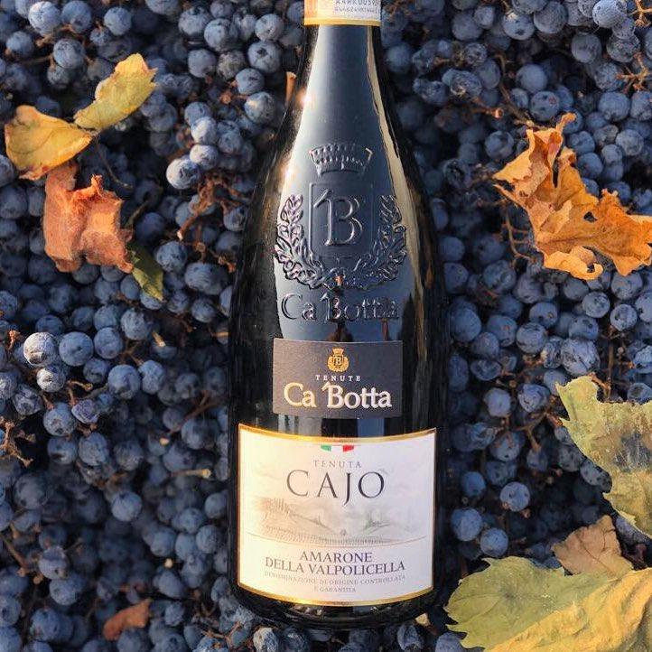 Soon Verona will host Anteprima Amarone: from 3 to 5 February we are waiting for the tasting of our pride – Amarone.  In this regard, we want to boast: in the photo you can see repeatedly awarded Tenuta Cajo Amarone Della Valpolicella DOCG Ca'Botta: Luca Maroni (Italy) – 93/100, I vini di Veronelli 2018 (Italy) – 91/100, Luca Gardini (Italy) – 90/100, Verona Wine TOP 2016 and Verona Wine TOP 2017 (Italy) – Gold medal, 18th Berliner Wein Trophy (Germany) – Gold medal, Mundus Vini (Germany) – Gold medal, Merano wine award (Italy) – Bollino rosso . Manca poco all'inizio di Anteprima Amarone a Verona – l'evento dedicato a un vino nobile di Valpolicella. Vi aspettiamo! Nella foto Tenuta Cajo Amarone Della Valpolicella DOCG Ca'Botta, vino premiato:  Luca Maroni (Italy) – 93/100, I vini di Veronelli 2018 (Italy) – 91/100, Luca Gardini (Italy) – 90/100, Verona Wine TOP 2016 and Verona Wine TOP 2017 (Italy) – Oro, 18th Berliner Wein Trophy (Germany) – Oro, Mundus Vini (Germany) – Oro, Merano wine award (Italy) – Bollino rosso?