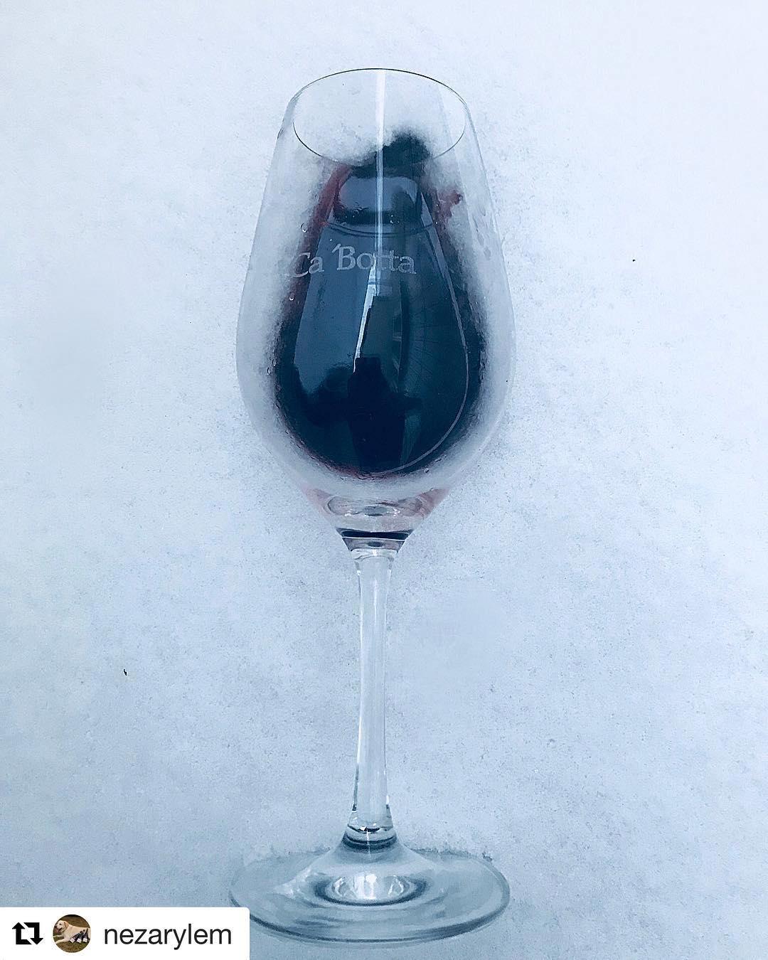 Amarone is a great idea during the cold season @nezarylem with @get_repost ??? По настоящему зимнее – #Амароне  А что вы любите из Ca'Botta?#amarone#cabotta#зима#греемся