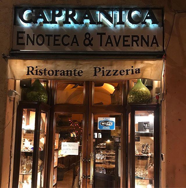 Roma capranica Cabotta