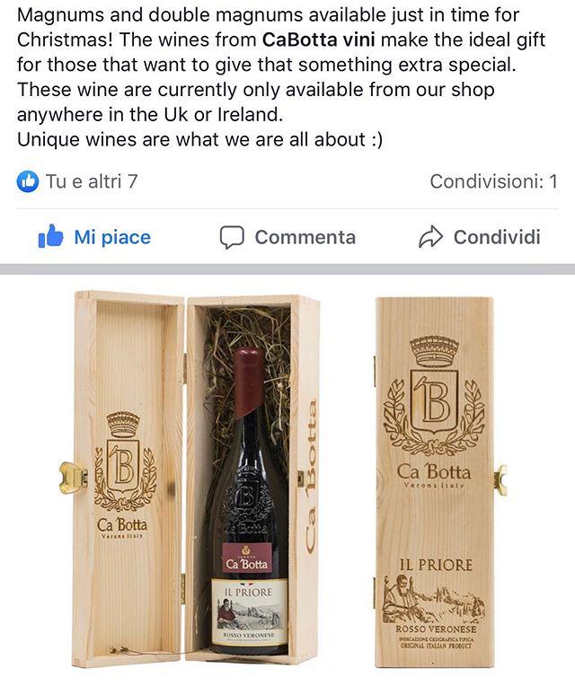 UK or Ireland with #Cabotta #wines