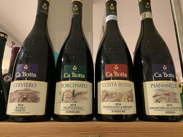 Anno 2020 si inizia con i vini #Cabotta