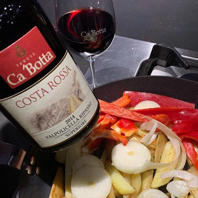 Cena a casa con #Ripasso da #Cabotta …#CostaRossa