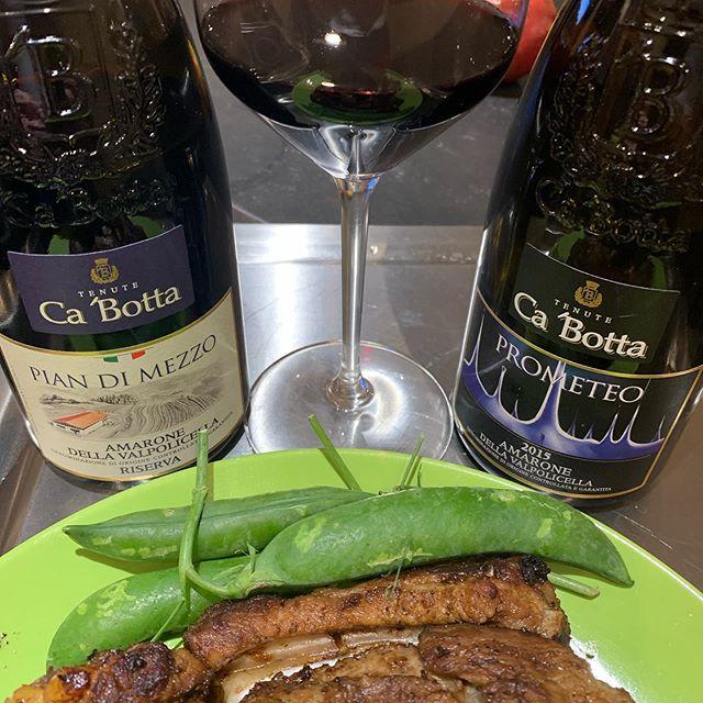 Amarone Riserva's evening with #Cabotta