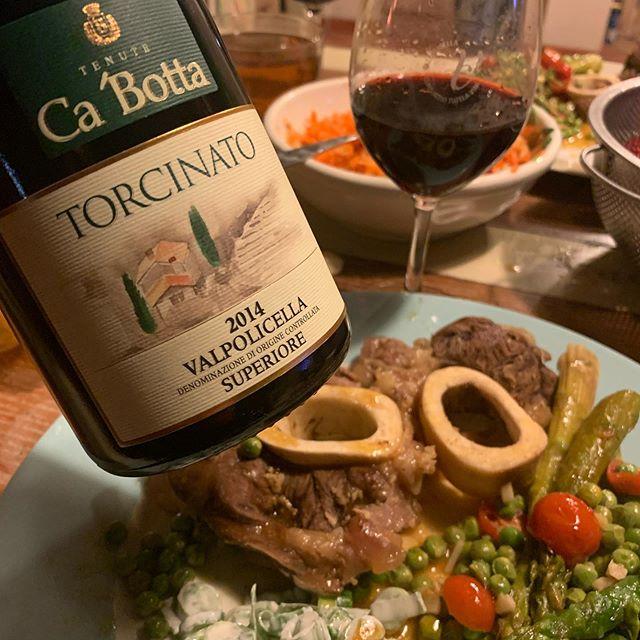 Cena con Buchi e #valpolicella superiore #Cabotta